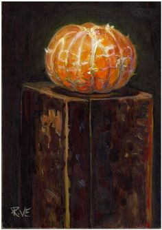 Ruth Van Egmond   Naked Mandarin orange