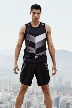 """Indulge in trendy sportswear for men and women. Click to shop running tights, jackets, tops, shorts, sports bras and more that all combine fashion with function. The """"For Every Victory"""" collection is developed in collaboration with professional athletes. 
