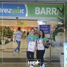 Nossas promotoras começaram o ano levando os melhores preços do Supermercado Prezunic para alguns bairros do Rio de Janeiro. Ação aconteceu nos dias 04/01 e 05/01.