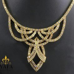 By #GraffDiamonds , a diamond necklace that sits so elegantly around your neck! Yafa Signed Jewels has been buying and selling authentic signed jewelry since 1985.  All pieces are guaranteed authentic. www.vintagesignedjewelry.com.