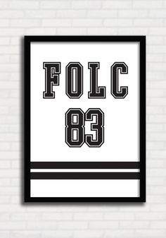 Poster College Folc 83 - FOLC TO8037