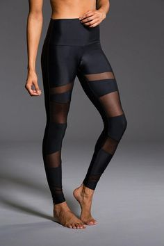 Shop Onzie's mesh leggings, in our refreshing and stylish breathable fabric. Our mesh workout leggings come in track legging, cut out capri and even high rise. Choose the style of mesh leggings you need. Mesh Leggings, Gym Leggings, Sports Leggings, Workout Leggings, Black Leggings, Yoga Fashion, Fitness Fashion, Athleisure, Estilo Fitness