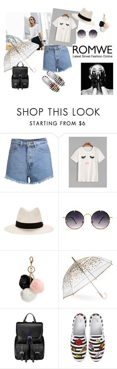 """""""#romwe contest"""" by pegiiisu ❤ liked on Polyvore featuring rag & bone, Spitfire, GUESS, ShedRain, Aspinal of London and BP."""