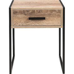 Irving Bedside Table - Black | Furniture | George