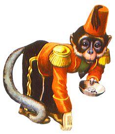 Circus monkey asking for money Old Circus, Vintage Circus Party, Vintage Circus Posters, Circus Art, Vintage Carnival, Circus Theme, Circus Illustration, Illustration Photo, Illustrations