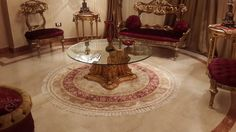 Our handmade round silk carpets are in our customer's beautiful house. www.yilongcarpet.com alice@yilongcarpet.com Whatsapp: +86 15638927921
