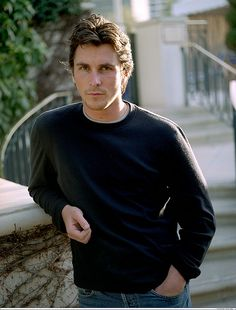 Christian Bale!!!!!!!! I just SCREAMEDDD!!!!!!!! All time favorite actor/any person at all EVER!!!!!!!!!