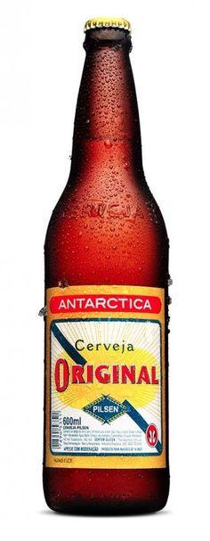 Cerveja Original da cervejaria brasileira Ambev. Uma das cervejas mais antigas do Brasil, originalmente feita pela Cervejaria Adriatica.