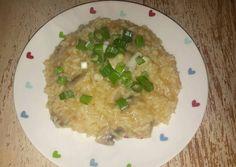 Gombas hagymás rizs