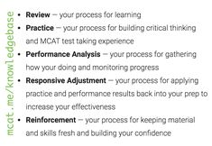 Craft a MCAT study strategy that helps you monitor your progress and make effective adjustments to your study schedule! #mcat #mcatprep #premed #studyschedule