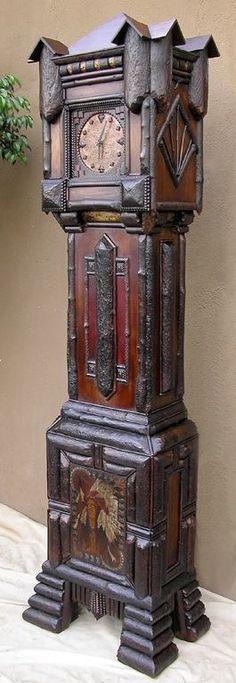Rituals Tramp art clock