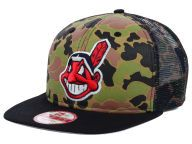 Find the Cleveland Indians New Era WoodlandCamo/Black New Era MLB Camo Face Mesh Trucker 9FIFTY Snapback Cap & other MLB Gear at Lids.com. From fashion to fan styles, Lids.com has you covered with exclusive gear from your favorite teams.