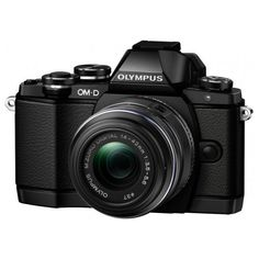 Olympus OM-D E-M10 16.1 Megapixel Mirrorless Camera with Lens - 14 mm