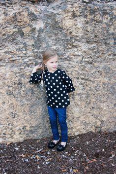 Gap Polka Dot top via Texas Fashion Spot - Toddler Fashion
