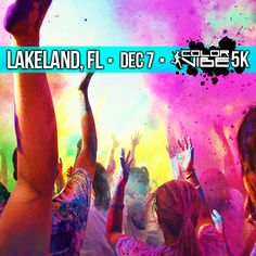 LAKELAND--Come get C R A Z Y with us!!! Visit our website and sign up quick before the spots fill up! http://www.thecolorvibe.com/lakeland.php