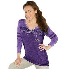 Touch by Alyssa Milano Baltimore Ravens Women's Kickstart Slim Fit ...