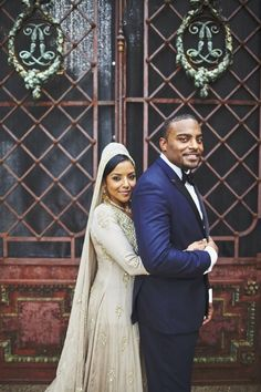 Swahili Culture Inspired Fall Wedding in Nashville: Saida and Kenny