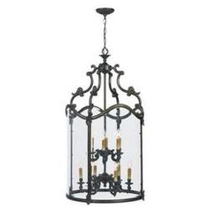 Foyer cage 9 light - TheFind