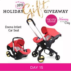 Enter to win a Doona Infant Car Seat!  … Continue reading →