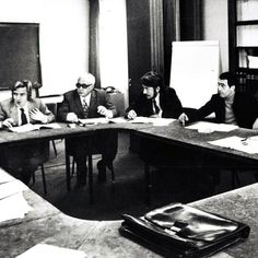 """The signing of the Médecins Sans Frontières charter in #Paris, 20th December #1971. #MSF was created on the belief that all people have the right to medical care regardless of gender, race, religion or political affiliation, and that the needs of these people outweigh respect for national boundaries. """"It's simple really: go where the patients are. It seems obvious, but at the time it was a revolutionary concept. It's no coincidence that we called it 'Médecins Sans Frontières,'"""" Bernard…"""