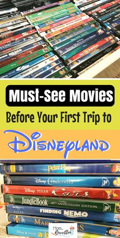 Getting your family familiar with characters before your first Disneyland trip is easy - just watch these must-see Disney movies! Find out what movies are recommended watching as well as what rides, shows and attractions feature the characters in the Disn Disney Vacation Club, Disney Cruise Line, Disney Vacations, Disney Trips, Family Vacations, Disney Travel, Cruise Vacation, Vacation Destinations, Disney Parks