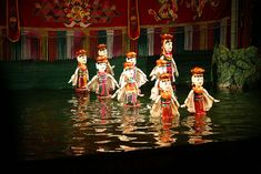 Water Puppets Show of Vietnam