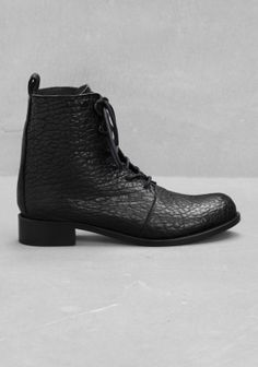 Lace up ankle boots from & other stories