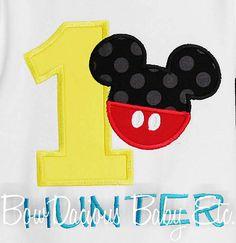 Mickey Mouse Clubhouse Birthday Onesie, Custom