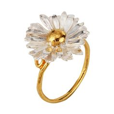 Alex Monroe daisy ring