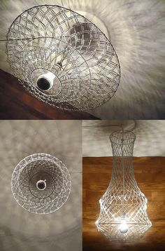 DIY: Paper Clip Chandelier - upcycleDZINE ((lighting))