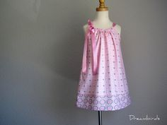 Toddler Girls' Sophisticated Pink and Gray by dreambirds on Etsy, $26.00