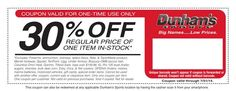 Dunham's Sports In-Store Coupon