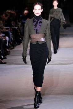 Haider Ackermann Fall 2012 Ready-to-Wear Collection Slideshow on Style.com#1#1  trim lines and interesting belt