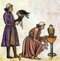 Falconry is a hunting sport Mary would engage in.