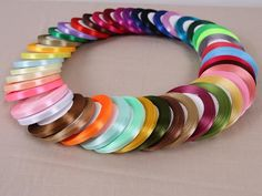 25Yards/A Roll 1CM Width 19 Colors Polyeser Ribbon Wedding Home Decoration Handmade Crafts DIY Accessories Gifts Wrap Ribbons
