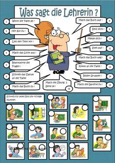 Klassensprache - Was sagt die Lehrerin?