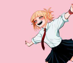 """My Hero Academia (僕のヒーローアカデミア) - Himiko Toga (渡我 被身子) izudekus: """"~ Himiko ✩ Toga ~ """" My Hero Academia Episodes, My Hero Academia Memes, Buko No Hero Academia, Hero Academia Characters, My Hero Academia Manga, Anime Characters, Otaku Anime, Manga Anime, Animes Yandere"""