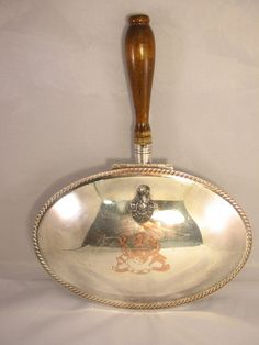 $14.99  Vintage 1883 F. B. Rogers Silent Butler Crumb Catcher Silver Plate on Copper #88 Butler, Catcher, Tea Time, Silver Plate, Copper, Jewels, Antiques, Vintage, Antiquities