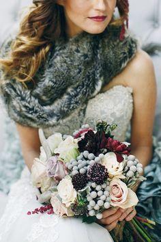 Ideas para celebrar una #boda en invierno