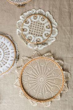 Como elaborar un atrapasueños con carpetas a crochet paso a paso