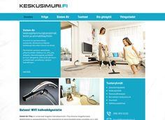 Keskusimuri.fi kotisivut toteutettiin Kotisivukoneen Avaimet käteen -palvelun avulla.