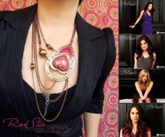 Popnicute Artisan Jewelry is sending an original statement jewelry design to the Stylist of ABC Family's hit TV show, Pretty Little Liars, for consideration of making an appearance in the show.