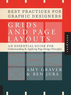 Graphic Design books to get you started - Best Practices for Graphic Designers, Grids and Page Layouts ; More design projects & do research to get more knowledge. Web Design, Tool Design, Page Design, Layout Design, Cover Design, Graphic Design Books, Graphic Design Projects, Graphic Design Inspiration, Graphic Designers