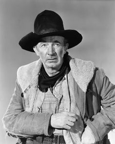 Walter Brennan was a great actor who always looked old.