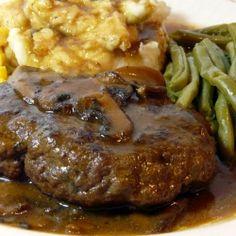 Salisbury Steak, Good old fashioned diner food
