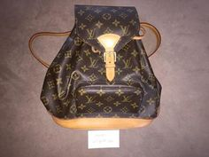 Louis Vuitton Montsouris Monogram Backpack for $350 at Lollipuff