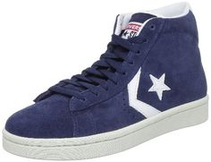 Converse Men's Pro Leather Suede Mid Blue Water