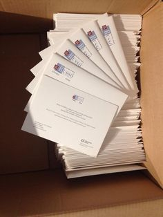 The invitations are on the way...