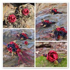 Flaxation for flax wedding bouquets and flax flowers Blue Wedding Flowers, Floral Wedding, Wedding Bouquets, Flax Flowers, Fabric Flowers, Wedding Themes, Wedding Designs, Wedding Ideas, Flax Weaving