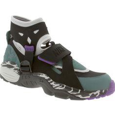 Nike Air Carnivore- Light Zen Grey/Black/Oxidized Green/Purple
